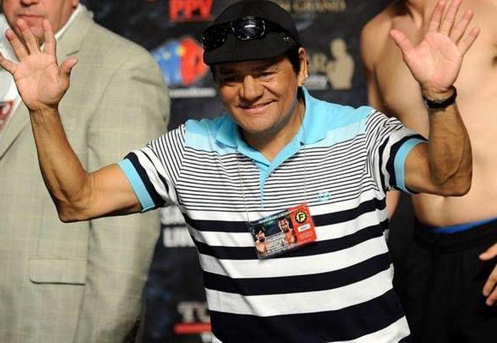 El papel del campeón mundial Roberto Durán (foto) será interpretado ahora por Édgar Ramírez. (www.mediotiempo.com/Archivo)