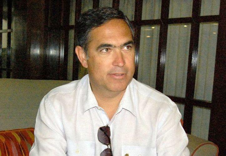 El presidente de la Coparmex Yucatán, Nicolás Madáhuar Boehm, dijo que el debate de los candidatos a la Alcaldía de Mérida fue 'un conjunto de posicionamientos leídos'. (Milenio Novedades)