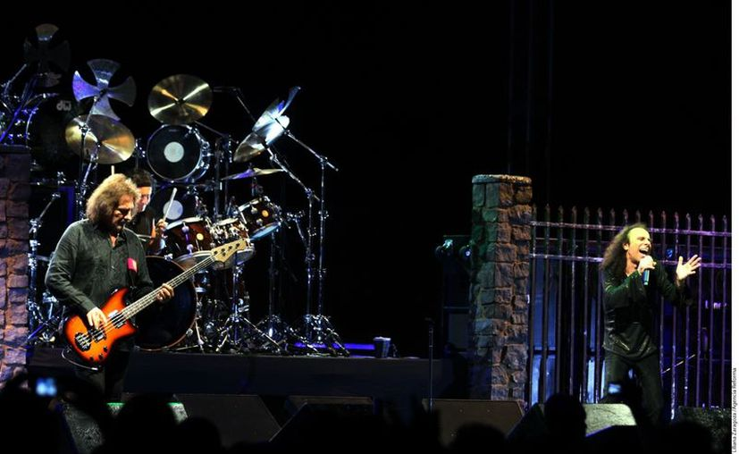 La legendaria banda Black Sabbath. (Reforma)