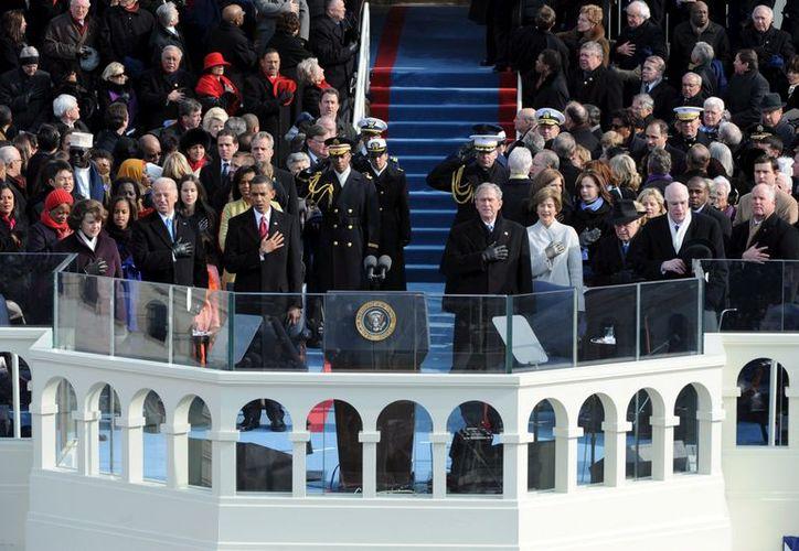Aspecto de la primera investidura presidencial de Barack Obama, en 2009. (EFE)
