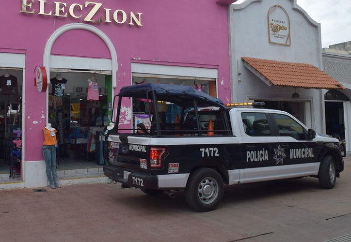 Las instalaciones del Puesto de Mando y las patrullas estatales están listas. (Gustavo Villegas/SIPSE)