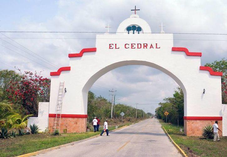 En el poblado de El Cedral se realizará la celebración religiosa. (Cortesía/SIPSE)