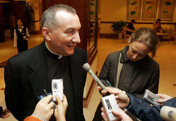 Pietro Parolin, arzobispo italiano de 58 años y exviceministro de Relaciones Exteriores del Vaticano. (Agencias)