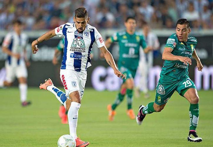 Los Tuzos están en la final del futbol mexicano tras vencer al León 2-1 en el Estadio Hidalgo. (Archivo Mexsport)