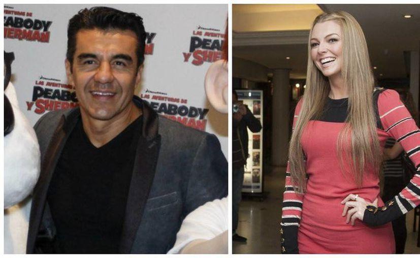 Adrián Uribe confesó que él y Marjorie de Sousa, la actriz venezolana, son pareja.  (sdpnoticias.com)