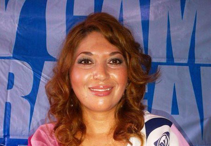 Trinidad García Argüelles, diputada local panista. (Daniel Pacheco/SIPSE)