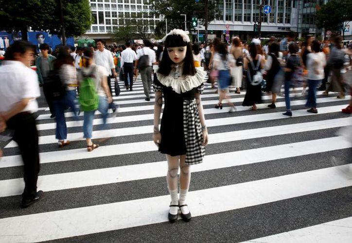 Lulu Hashimoto posa como una mujer de verdad. (Foto: El Tiempo)