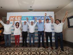 Mantienen Mauricio Vila y Renán Barrera delantera al cierre del PREP