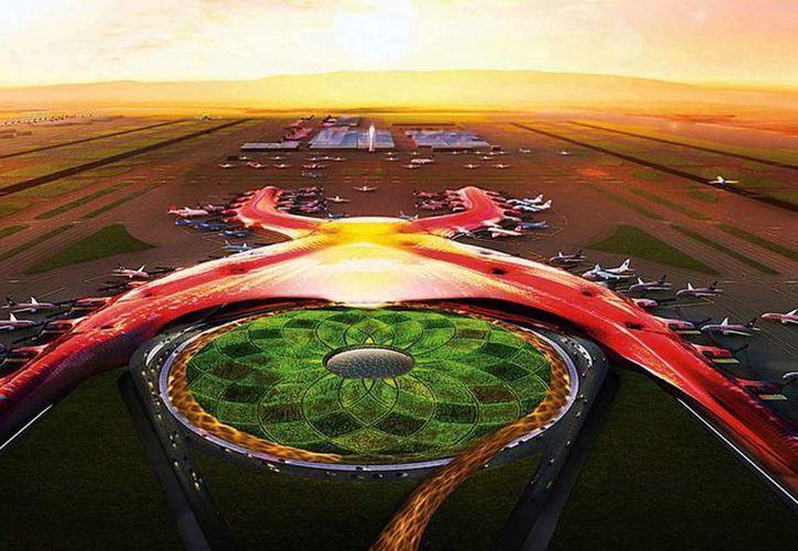 Antes de que termine el año se adjudicará la construcción de la Terminal y la Torre de Control para el Nuevo Aeropuerto de la Ciudad de México. (Archivo/Agencias)