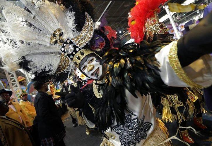 El Mardi Gras en Nueva Orleáns se celebrará este año el 17 de febrero. (AP)