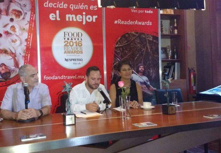 Yucatán recibió tres nominaciones de los Food Travel Reader Awards: Mérida como Mejor Destino Gourmet de México, el hotel Rosas & Chocolate como mejor hotel urbano de México, y el hotel Xixim, como mejor hotel ecológico del país. (Candelario Robles/SIPSE)
