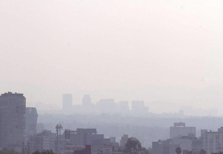 Ante los niveles de contaminación que se han presentado en el Valle de México, incrementaron las consultas por asma y conjuntivitis. (Archivo/Notimex)