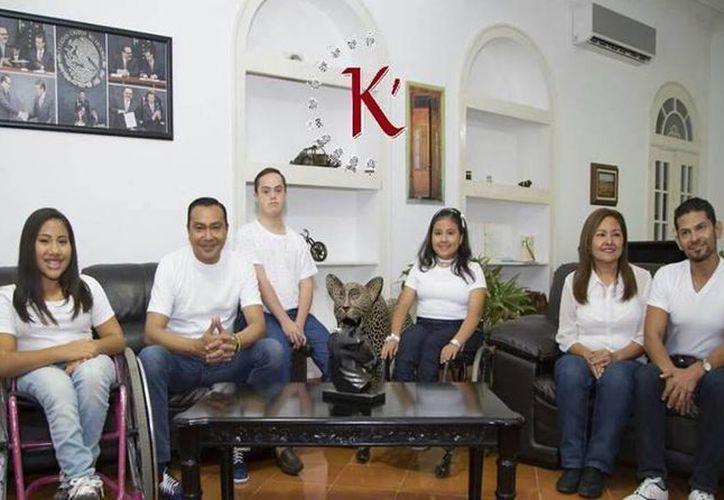 La Asociación Civil K'ahool y Martín López se unen para la pasarela inclusiva este 26 de mayo a las 19:00 horas en la Quinta Alsina Massó de la colonia Itzimná. (Milenio Novedades)