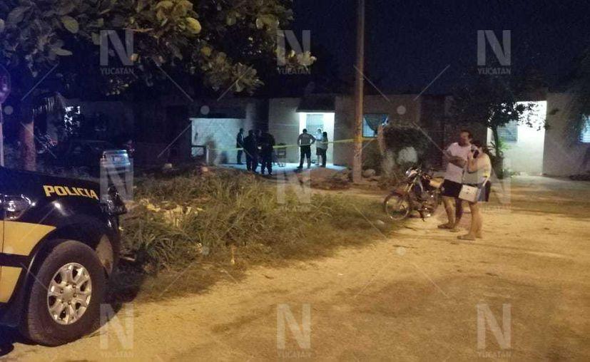 Familiares dieron aviso del hecho a la Policía. (Novedades Yucatán)