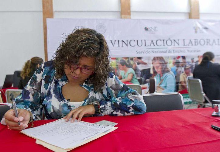 La tasa de desempleo en México fue menor que la registrada en 2014. (Archivo/Notimex)