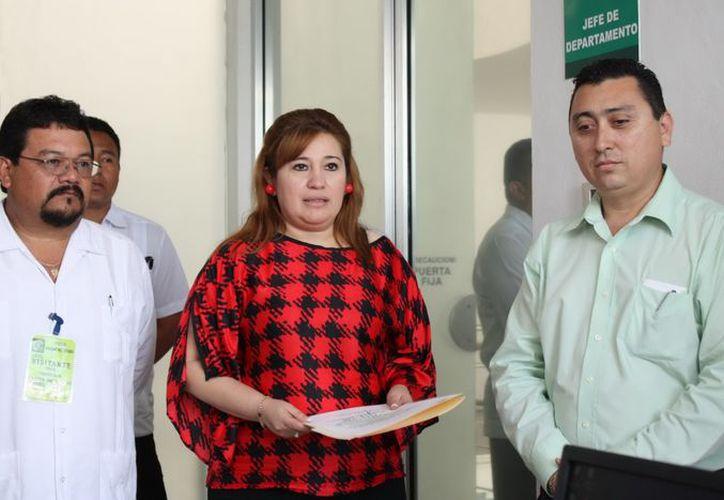 La titular de la Fiscalía General del Estado, Celia Rivas Rodríguez. (Milenio Novedades)