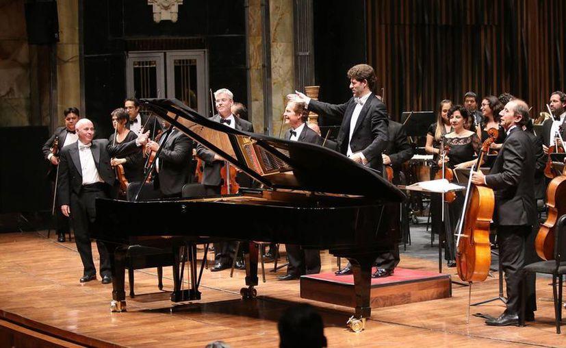 La Orquesta Sinfónica de Yucatán brinda dos conciertos en la Ciudad de México, uno de ellos este viernes por la noche. (Cortesía)
