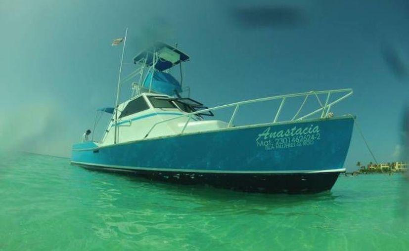 La embarcación 'Anastacia' desapareció con los cinco pescadores que viajaban en ella el 30 de marzo pasado. (Cortesía)