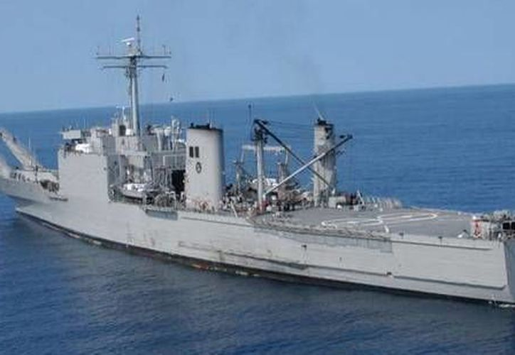 El buque 'Papaloapan' permanecerá tres días en Progreso. (SIPSE)