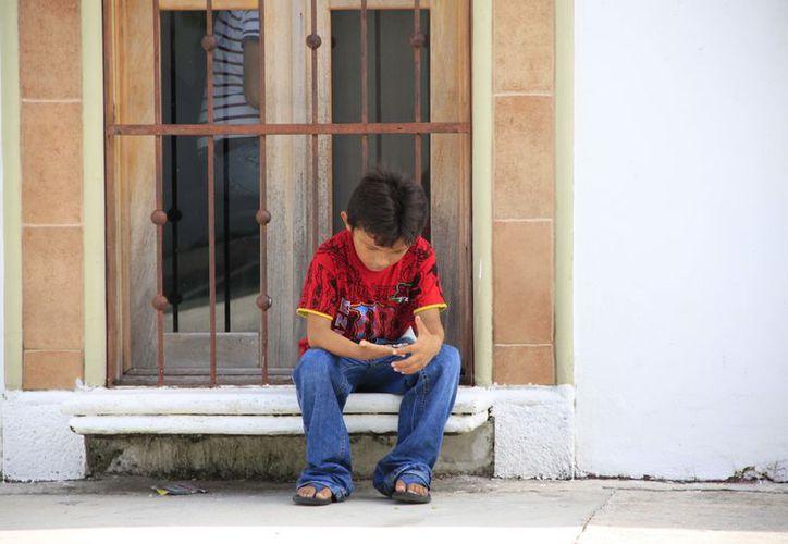 Más de cuatro mil niños en Q.Roo son maltratados de alguna forma. (Ángel Castilla/SIPSE)