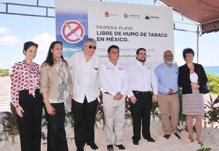 """La plática """"Cozumel sin tabaco"""" que advierte sobre los peligros para la salud que implica su consumo. (Redacción/SIPSE)"""