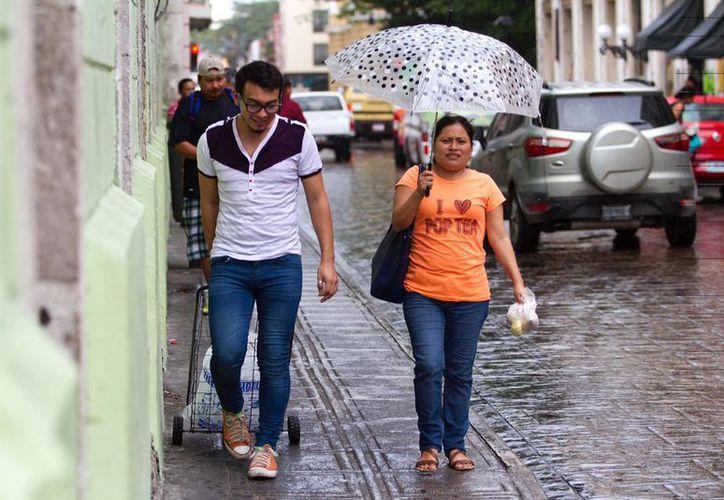 La Conagua pronostica un intenso calor y lluvias ligeras para Yucatán. (Amílcar Rodríguez/Milenio Novedades)