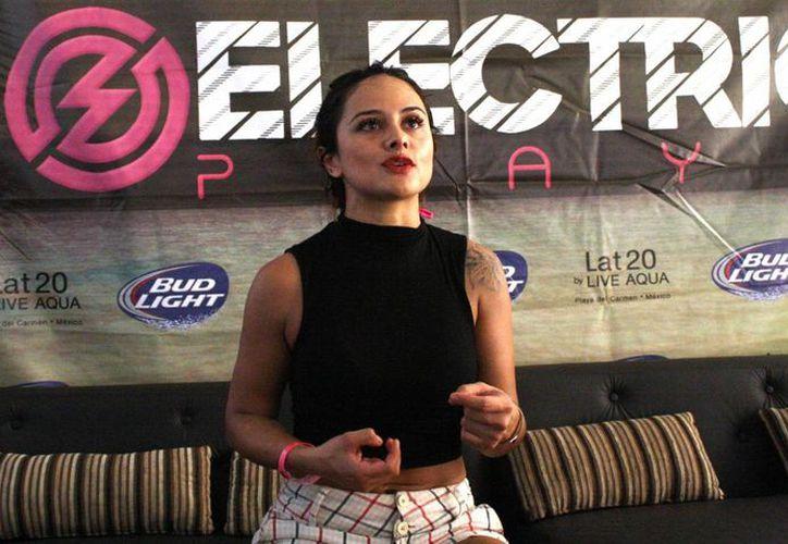 Marisol adelantó que se encargará de poner el ambiente en The Music Race por alrededor de dos horas. (Octavio Martínez/SIPSE)