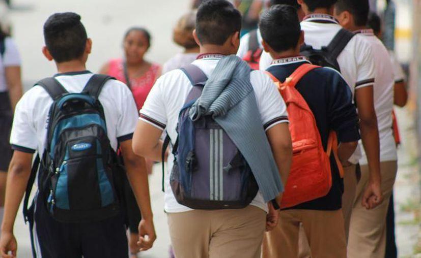 Las autoridades buscarán implementar un sistema de seguridad para el próximo ciclo escolar. (Redacción/SIPSE)