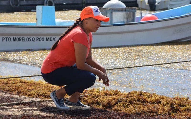 Ludivina se encargará de atender la situación del sargazo  y ofrecer las playas atractivas.