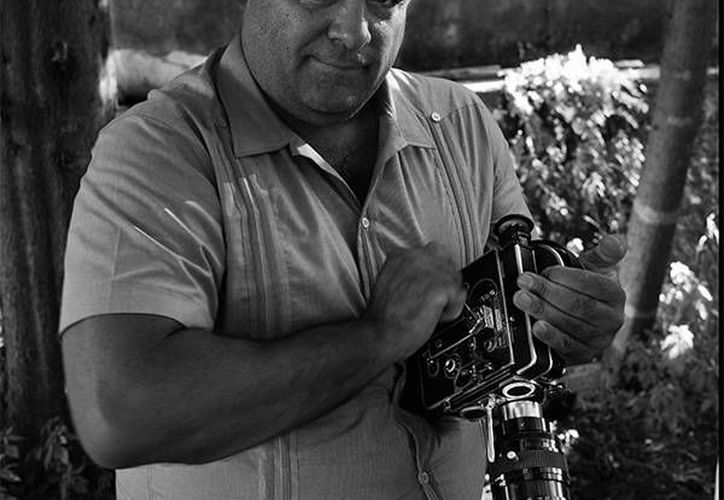 Emilio Maillé, autor del documental Miradas múltiples, en la que compiló trabajos de Gabriel Figueroa. (videocine.com.mx)