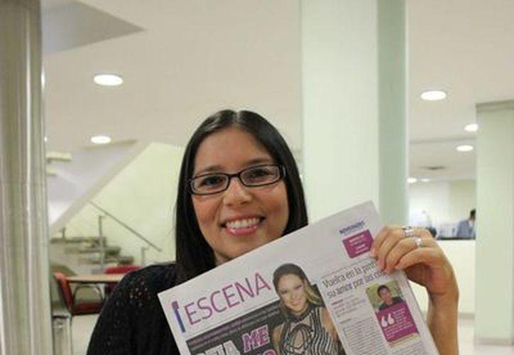 """La actriz Angélica García presentará """"ABC: La noche perpetua"""" en la Casa de la Cultura de Cancún. (Andrea Aponte/SIPSE)"""