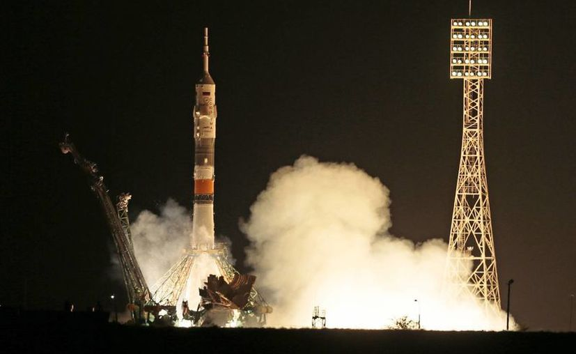 Otros tres astronautas ya se encuentran en órbita. (Agencias)