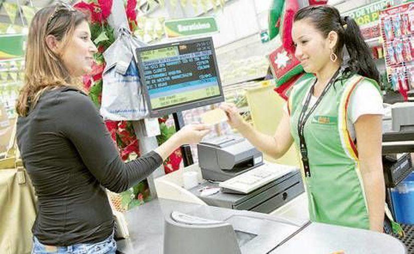 El costo de cada operación en los corresponsales bancarios, es en promedio de siete pesos. (Redacción/SIPSE)
