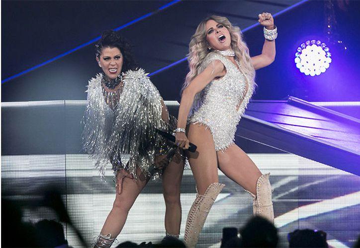 Restan 17 presentaciones del Versus World Tour, por parte de Alejandra Guzmán y Gloria Trevi. (Contexto/Internet)
