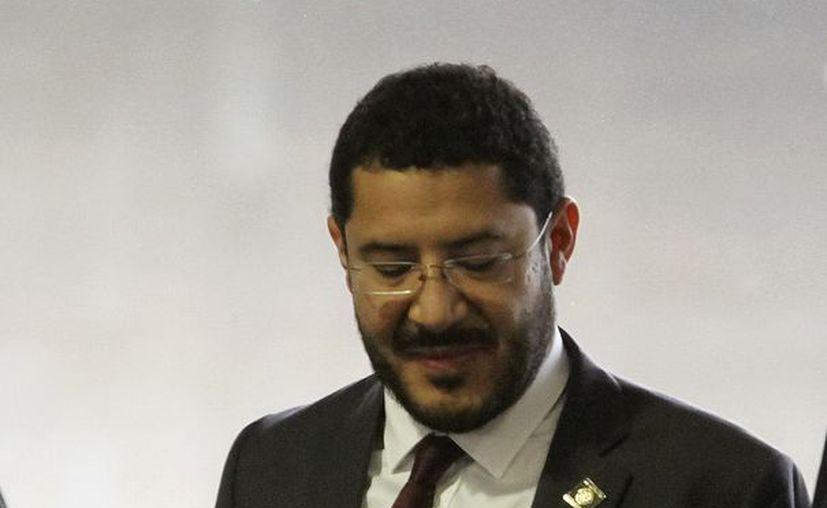 Martí Batres formó parte del equipo de López Obrador en el gobierno del DF en 2003. (Archivo Notimex)
