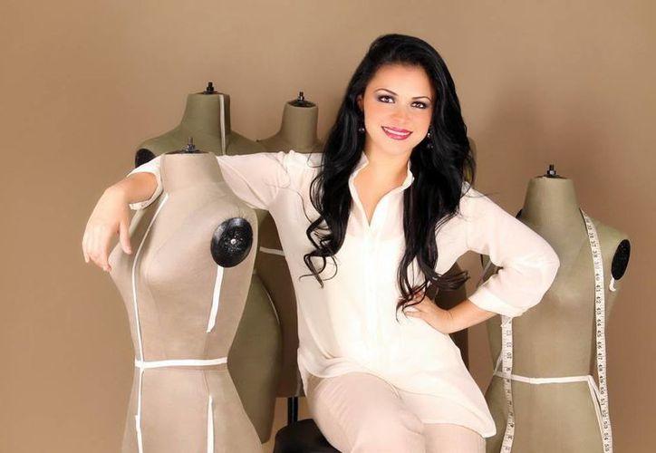 La diseñadora yucateca Abril Cervera representará a México en el encuentro internacional 'Latin América- Middle East- South Asia'. (Milenio Novedades)