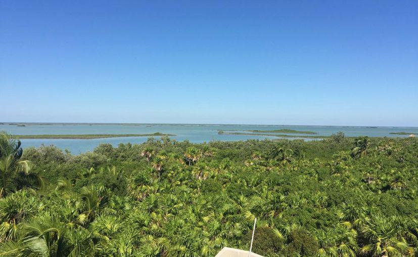El aparato instalado en Boca Paila permitirá contar con información sobre los cambios climáticos. (Foto: Cortesía)
