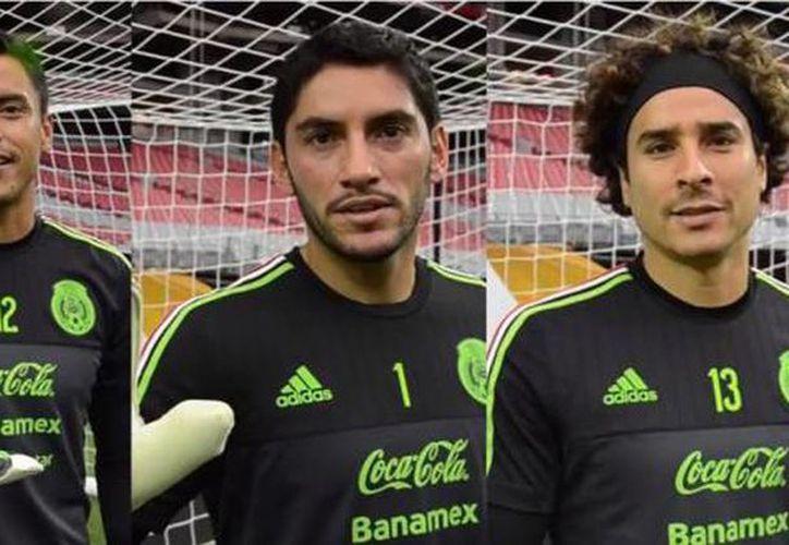 Imagen tomada del video ¡Ya Párale! en el elementos de la Selección Mexicana piden a los aficionados dejar de gritar contra los porteros de los equipos rivales. (Captura de pantalla)