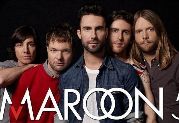 La agrupación Maroon 5 es ganadora de tres premios Grammy y trae a México su gira 'The Maroon V world tour'. (Agencias)