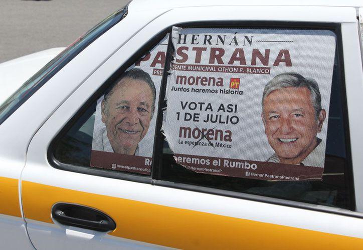 El candidato a presidente del Partido Encuentro Social viola la legislación electoral. (Joel Zamora/SIPSE)