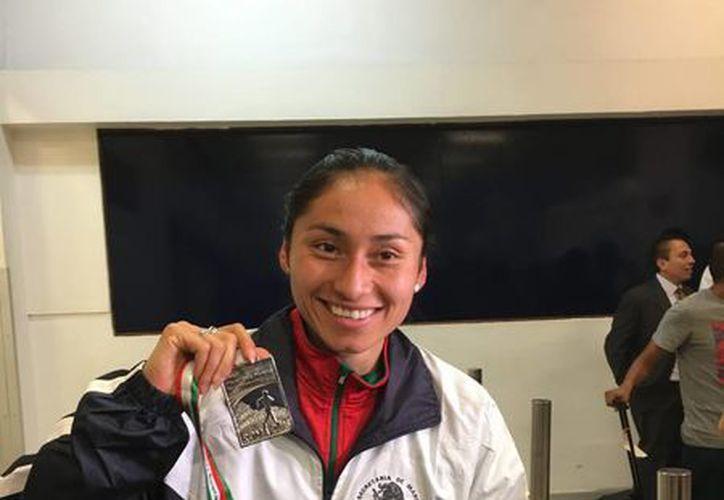 La marchista mexicana Lupita González tiene muchas posibilidades de ganar una medalla en Río 2016. (Notimex)