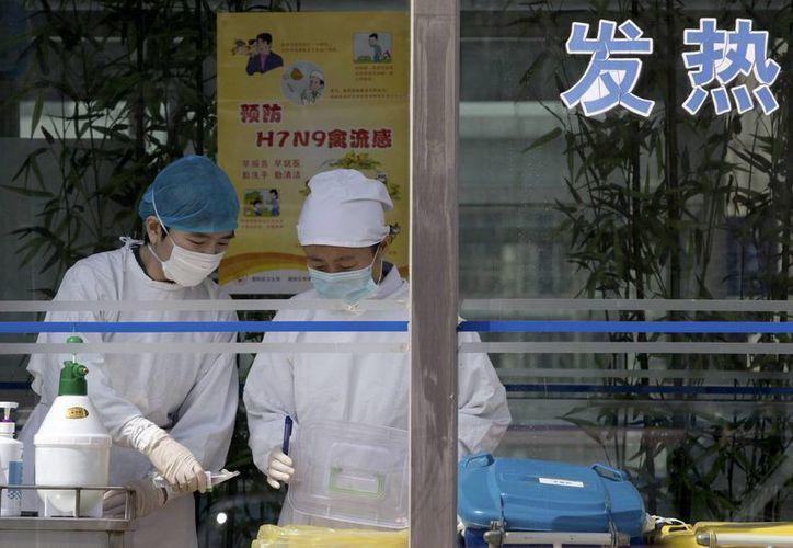 El virus se detectó en humanos el mes pasado en China. (Agencias)