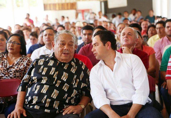 La reunión de priístas se realizó en la ciudad de Felipe Carrillo Puerto. (Eddy Bonilla/ SIPSE)