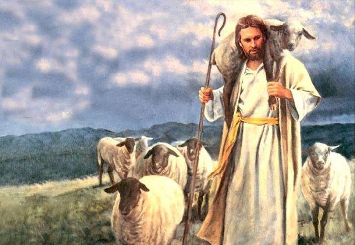 ... porque el Cordero será su pastor y los guiará a las fuentes del agua de la vida'. (imagenzac.com.mx)