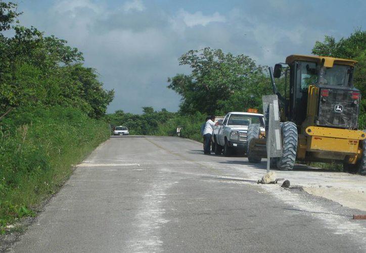 La obra estimada en 30 millones de pesos a su conclusión, tuvo que ser suspendida. (Javier Ortíz/SIPSE)