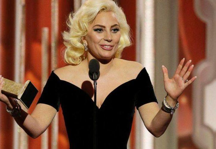 """Este domingo Lady Gaga ganó el Globo de Oro como Mejor Actriz en serie limitada o cinta para televisión por """"American horror story: Hotel"""" en donde interpreta a la dueña del hotel. (AP)"""