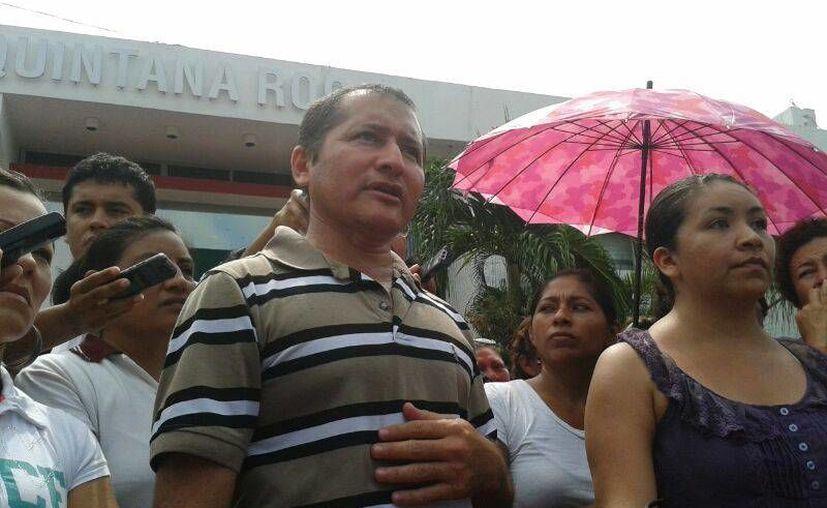 Llegaron al Palacio de Gobierno alrededor de las 10:40 horas. (Jazmín Ramos/SIPSE)