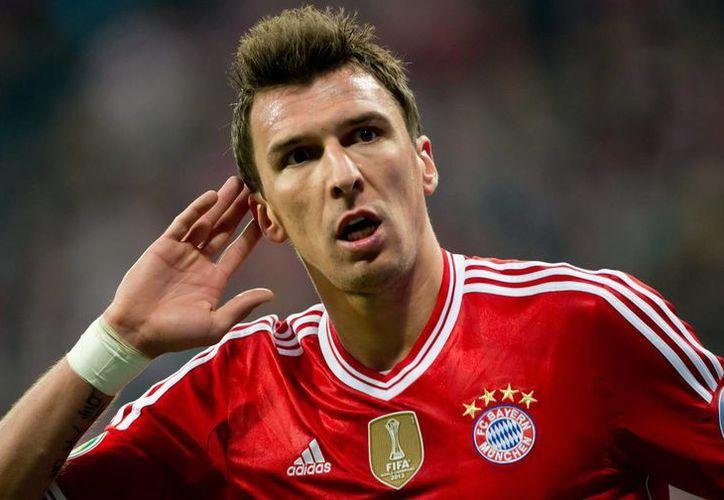 El lugar de Mandzukic (foto) en el Bayern será ocupado por el polaco Robert Lewandowski. (EFE)