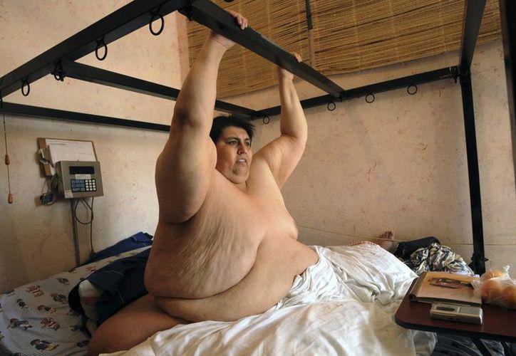Fue en 2007 que oficialmente recibió el Récord Guinness como la persona más obesa del mundo. (Agencias)