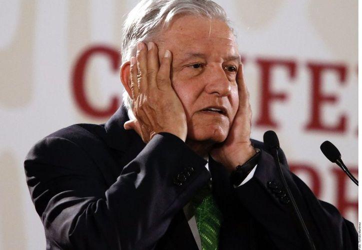 El Archivo General de la Nación presentó una versión ampliada de los documentos elaborados por la Dirección Federal de Seguridad de 1979 a 1983 sobre Andrés Manuel López Obrador. (Agencia Reforma)